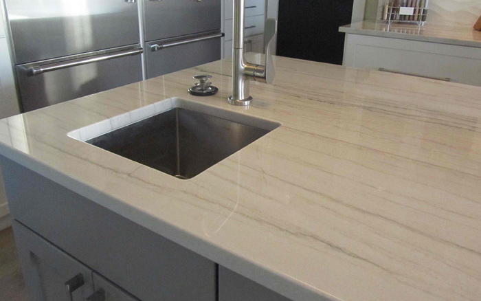 Know About Quartzite White Macaubas Kitchen Countertops