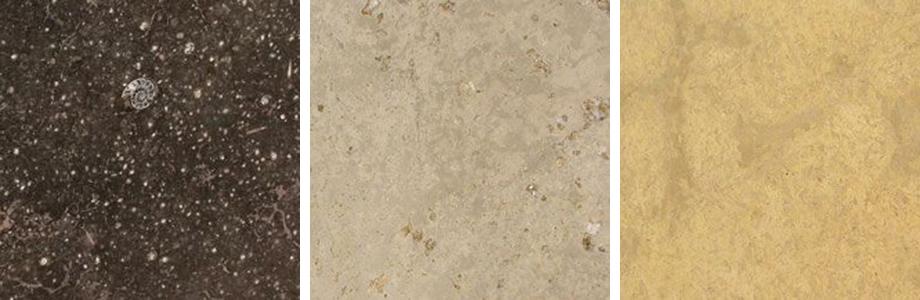Fossil Brown, Mauve Napolina, Giallo Provenza