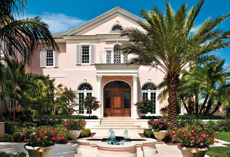 Pantone color of the year house exterior