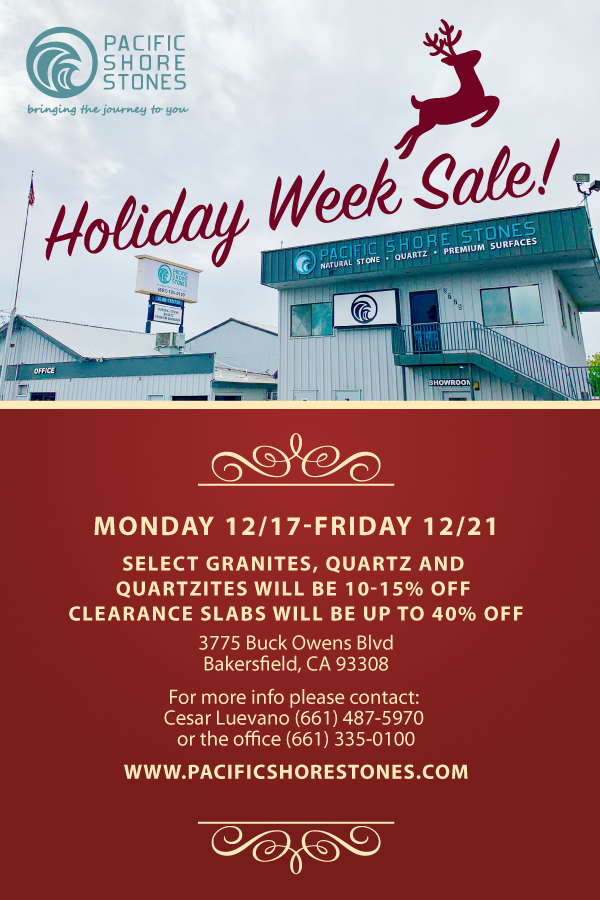 Bakersifield Holiday Week Sale